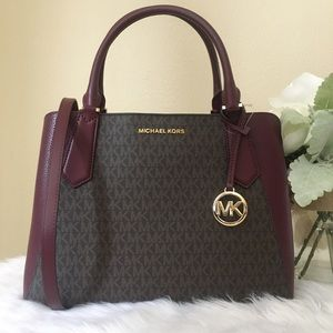 New Michael Kors Large Kimberly Satchel